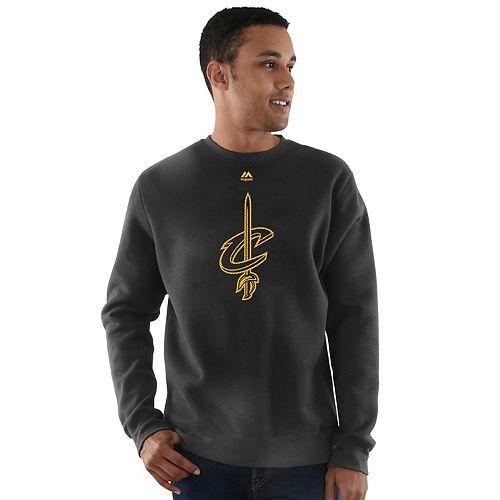 Men's Majestic Cleveland Cavaliers Team Backup Fleece
