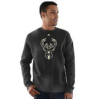 Men's Majestic Milwaukee Bucks Team Backup Fleece