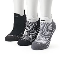 Women's Nike 3 pkDri-Fit Cushioned Low-Cut Socks