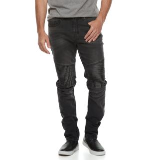 Men's Hollywood Jeans Slim-Fit Clifton Moto Jeans