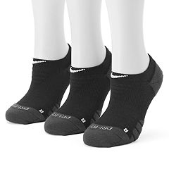 Women's Nike 3-pk. Dri-Fit Cushioned No-Show Socks