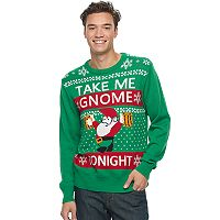 Men's Gnome Ugly Christmas Sweater