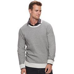 Men's Apt. 9® Slim-Fit Textured Crewneck Sweater