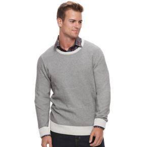 Men's Apt. 9® Slim-Fit Textured Crewneck Sweater