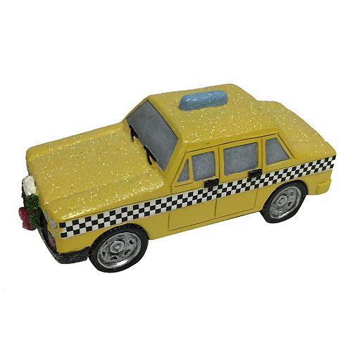 St. Nicholas Square® Village Taxi Cab