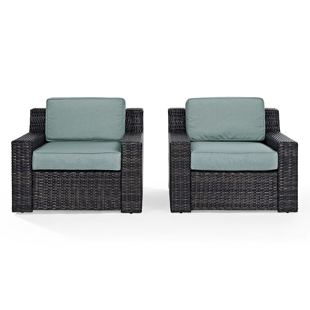 Crosley Furniture Beaufort Patio Arm Chair 2-piece Set