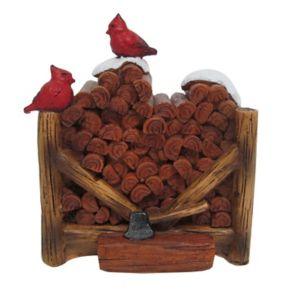 St. Nicholas Square® Village Firewood Pile