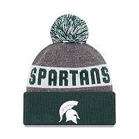 Adult New Era Michigan State Spartans Sport Knit Beanie