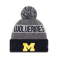 Adult New Era Michigan Wolverines Sport Knit Beanie