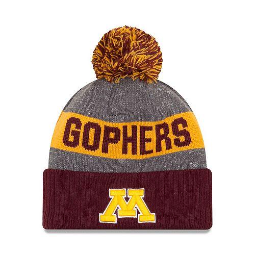 de3f3bad Adult New Era Minnesota Golden Gophers Sport Knit Beanie