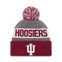 Adult New Era Indiana Hoosiers Sport Knit Beanie