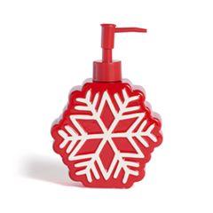 St. Nicholas Square® Christmas Traditions Snowflake Soap Pump