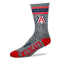 Adult For Bare Feet Arizona Wildcats Got Marbled Crew Socks