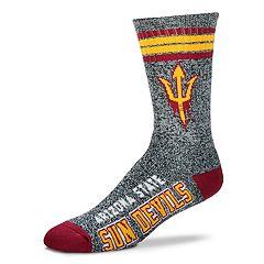 Adult For Bare Feet Arizona State Sun Devils Got Marbled Crew Socks