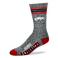 Adult For Bare Feet Arkansas Razorbacks Got Marbled Crew Socks