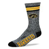 Adult For Bare Feet Iowa Hawkeyes Got Marbled Crew Socks