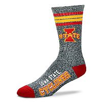 Adult For Bare Feet Iowa State Cyclones Got Marbled Crew Socks