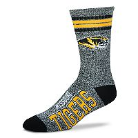 Adult For Bare Feet Missouri Tigers Got Marbled Crew Socks