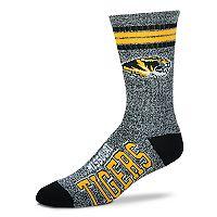 Adult For Bare Feet Missouri Tigers Got Marbled Crew Socks