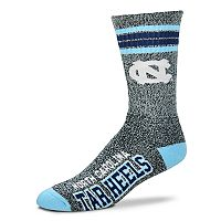 Adult For Bare Feet North Carolina Tar Heels Got Marbled Crew Socks