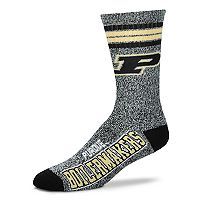 Adult For Bare Feet Purdue Boilermakers Got Marbled Crew Socks