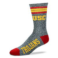 Adult For Bare Feet USC Trojans Got Marbled Crew Socks