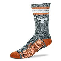 Adult For Bare Feet Texas Longhorns Got Marbled Crew Socks