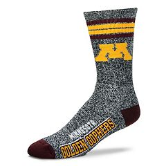 Adult For Bare Feet Minnesota Golden Gophers Got Marbled Crew Socks