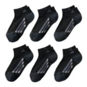 Boys 4-20 adidas 6-pack Low-Cut climalite Performance Socks
