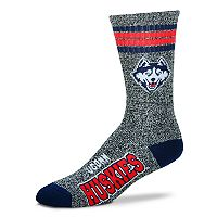Adult For Bare Feet UConn Huskies Got Marbled Crew Socks