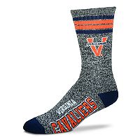 Adult For Bare Feet Virginia Cavaliers Got Marbled Crew Socks