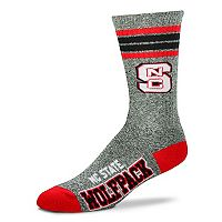Adult For Bare Feet North Carolina State Wolfpack Got Marbled Crew Socks