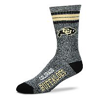 Adult For Bare Feet Colorado Buffaloes Got Marbled Crew Socks