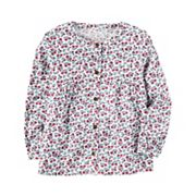 Girls 4-8 Carter's Floral Print Button Front Top