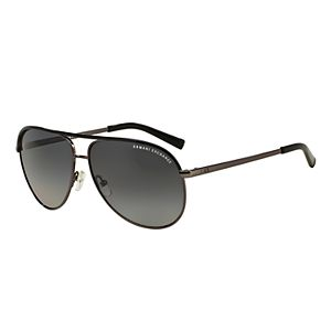 bef447a9bc9 Regular.  115.00. Armani Exchange AX2002 61mm Aviator Gradient Polarized  Sunglasses