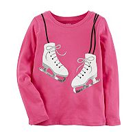 Girls 4-8 Carter's Ice Skates Graphic Tee