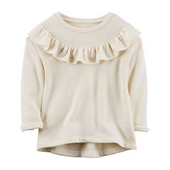 Girl's 4-8 Carter's Ruffle Sweatshirt