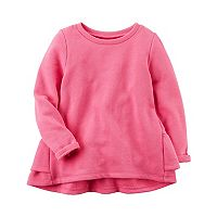 Girls 4-8 Carter's Ruffle Back Pink Pullover Sweater