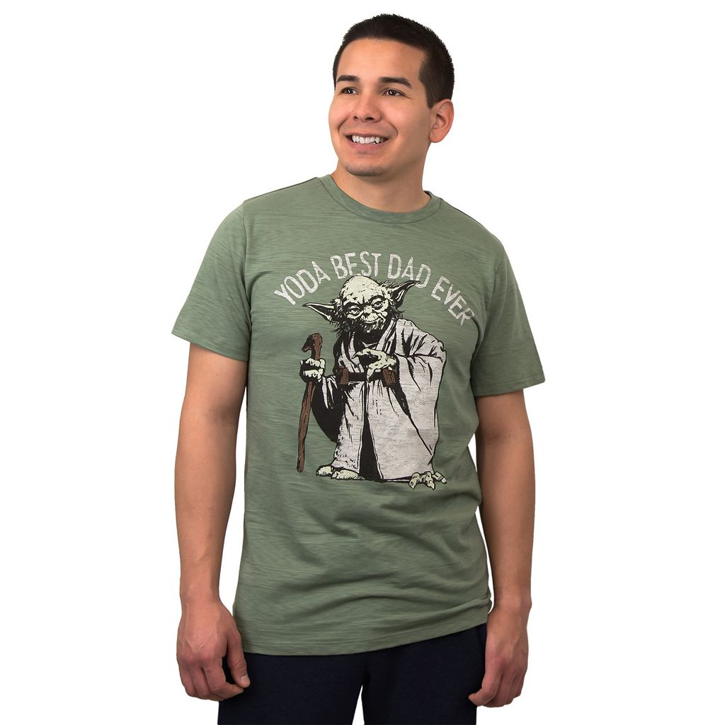 Men's Star Wars Yoda Best Dad Tee