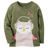 Girls 4-8 Carter's Musical Owl Tee