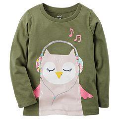 Girls 4-8 Carter's  Musical Owl Tee
