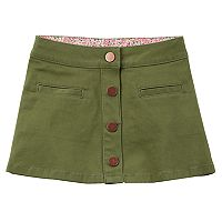 Girls 4-8 Carter's Button-Down Skirt