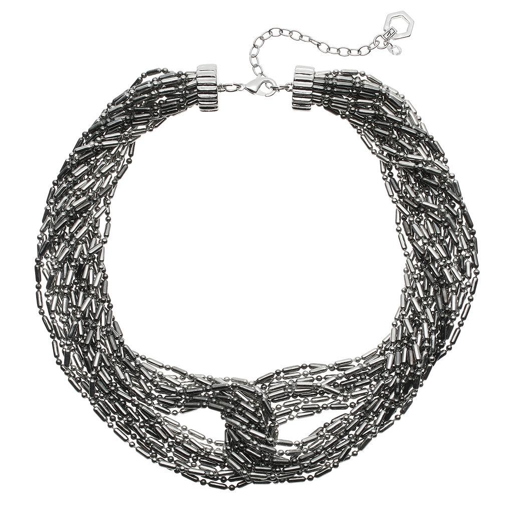 Simply Vera Vera Wang Interlocked Multi Strand Chunky Necklace