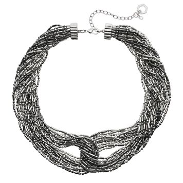 Simply Vera Vera Wang Interlocked Multi Strand Chunky Necklace