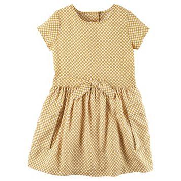Girls 4-8 Carter's Daisy Print Dress