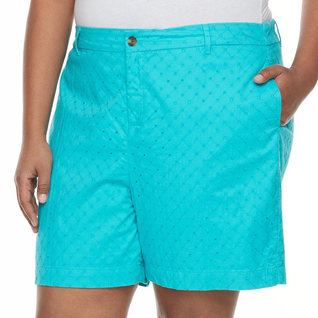 Plus Size Croft & Barrow® Novelty Shorts