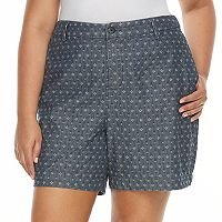 Plus Size Croft & Barrow® Novelty Shorts