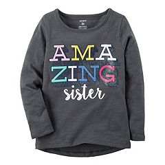 Girls 4-8 Carter's 'Amazing Sister' Graphic Tee