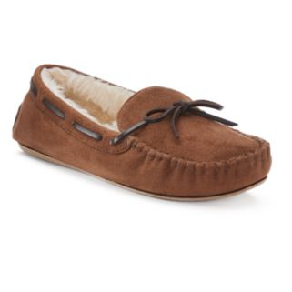 SONOMA Goods for Life™ Women's Microsuede Moccasin Slippers