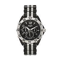 Armitron Men's Two Tone Stainless Steel Watch - 20/4664BKTB
